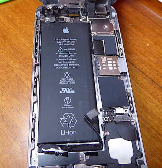 a592edd4b2 実例 動画付】iPhone6交換バッテリーを購入→自分で解体&交換/iPhone ...